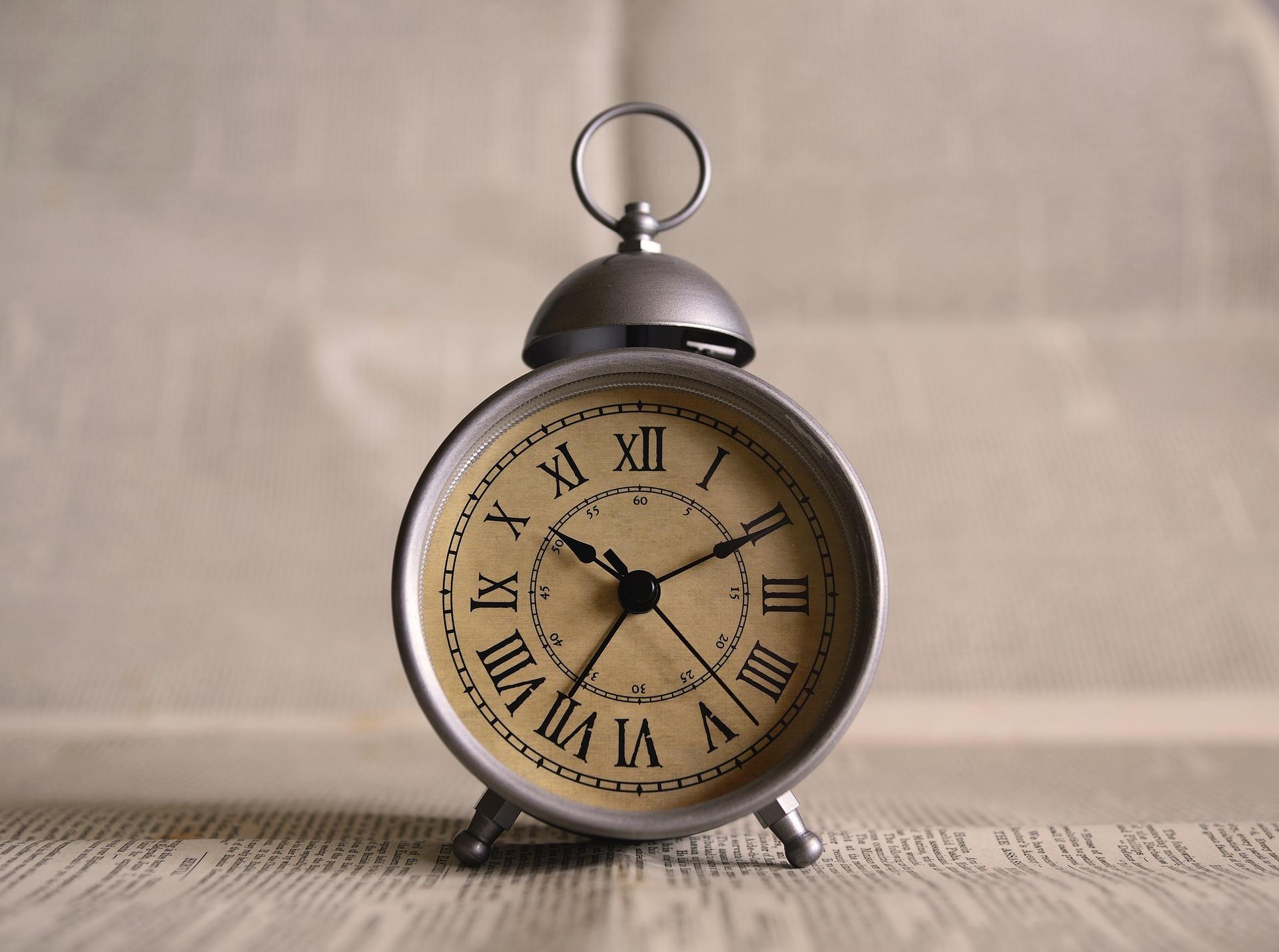 Uhr für Senioren